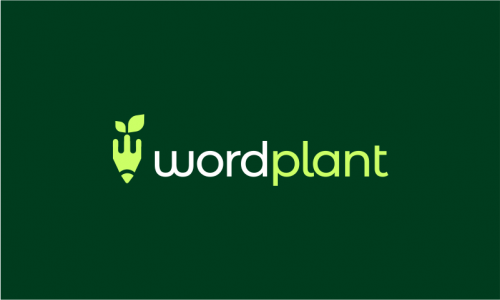 Wordplant - Media domain name for sale