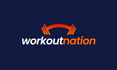 Workoutnation - Healthcare brand name for sale