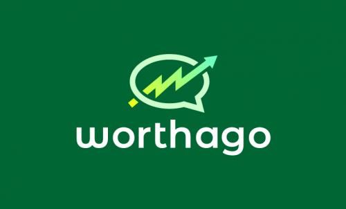 Worthago - Non-profit startup name for sale