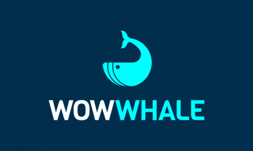 Wowwhale - Appealing domain name for sale