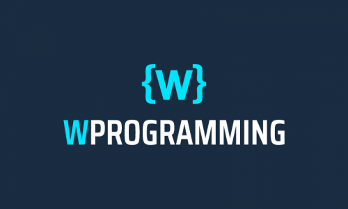 Wprogramming - Programming product name for sale