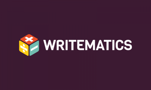 Writematics - Writing brand name for sale