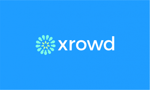 Xrowd - Crowdsourcing startup name for sale