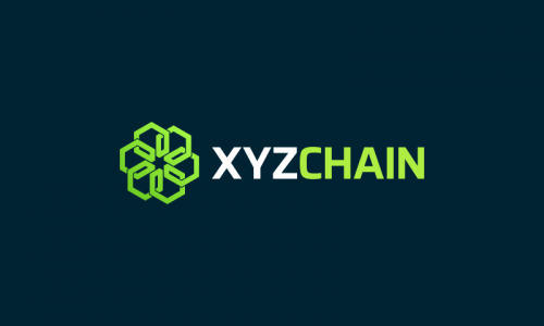Xyzchain - Cryptocurrency startup name for sale