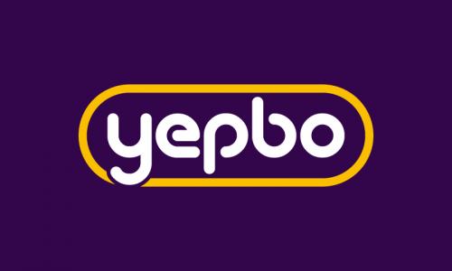 Yepbo - Audio domain name for sale