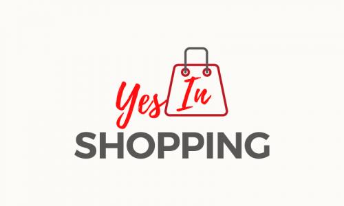 Yesinshopping - E-commerce startup name for sale