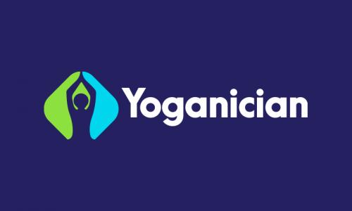 Yoganician - E-commerce startup name for sale
