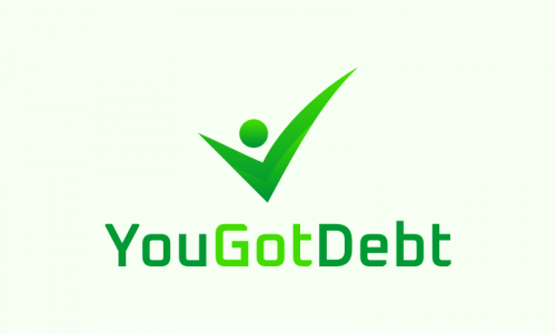 Yougotdebt - Finance domain name for sale