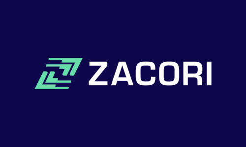 Zacori - Brandable product name for sale