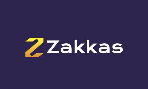 Zakkas - Technology startup name for sale