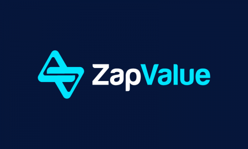 Zapvalue - Investment startup name for sale