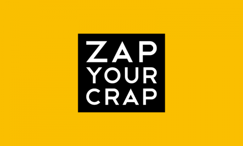 Zapyourcrap - Retail business name for sale