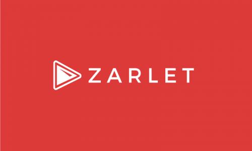 Zarlet - E-commerce startup name for sale