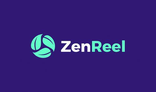 Zenreel - Media company name for sale