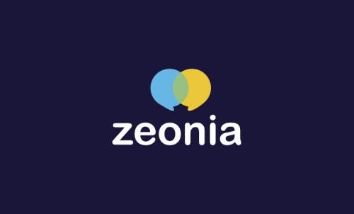 Zeonia - Social domain name for sale