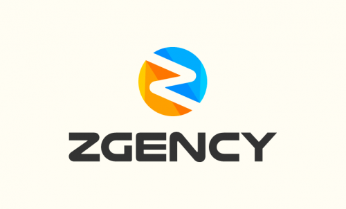 Zgency - Marketing domain name for sale
