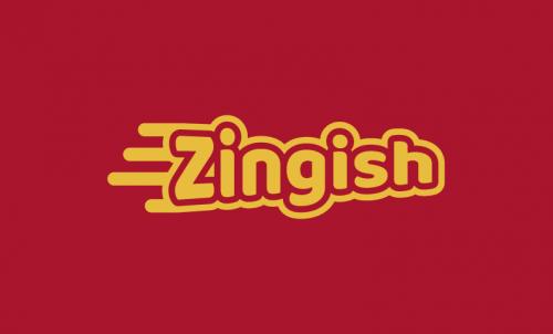 Zingish - Marketing domain name for sale