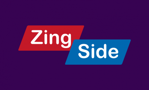 "Zingside - Fun play on ""ringside"", ideal name for ticket retailer"