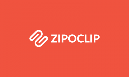 Zipoclip - E-commerce company name for sale
