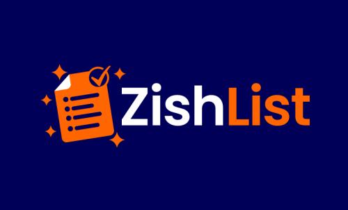 Zishlist - Technology brand name for sale