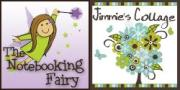 Notebooking Fairy and Jimmies Collage