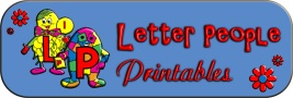 Letter People Printables