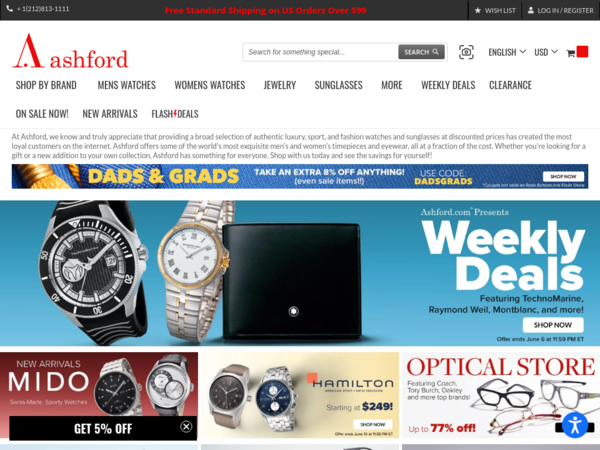 ashford coupon for sale items
