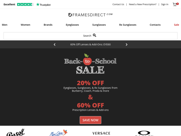 Frames Direct Coupon Codes | 60% off Lenses and add-ons for Oakley ...