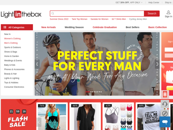 What is today's top offer for 599 Fashion?