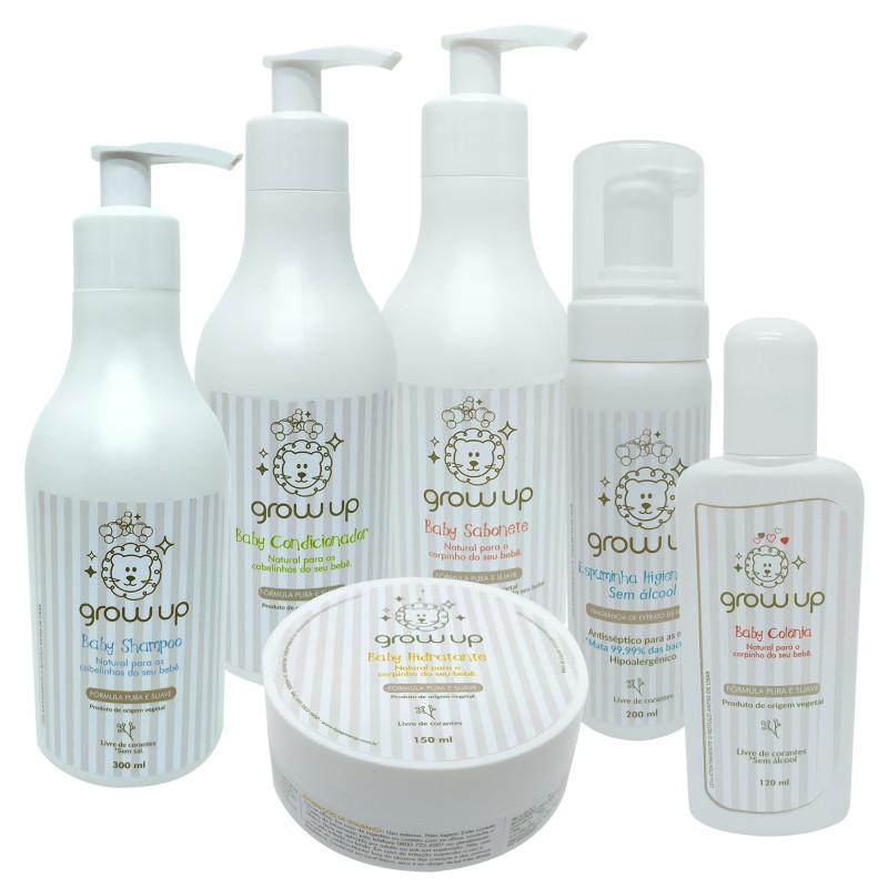 Kit Higiene Completo - Grow Up