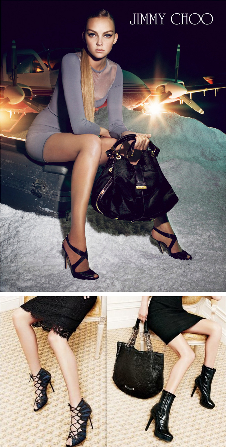 Jimmy Choo ads
