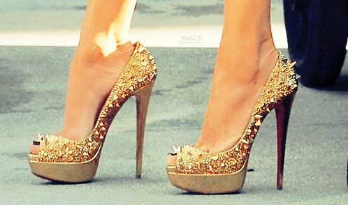 how high are christian louboutin heels