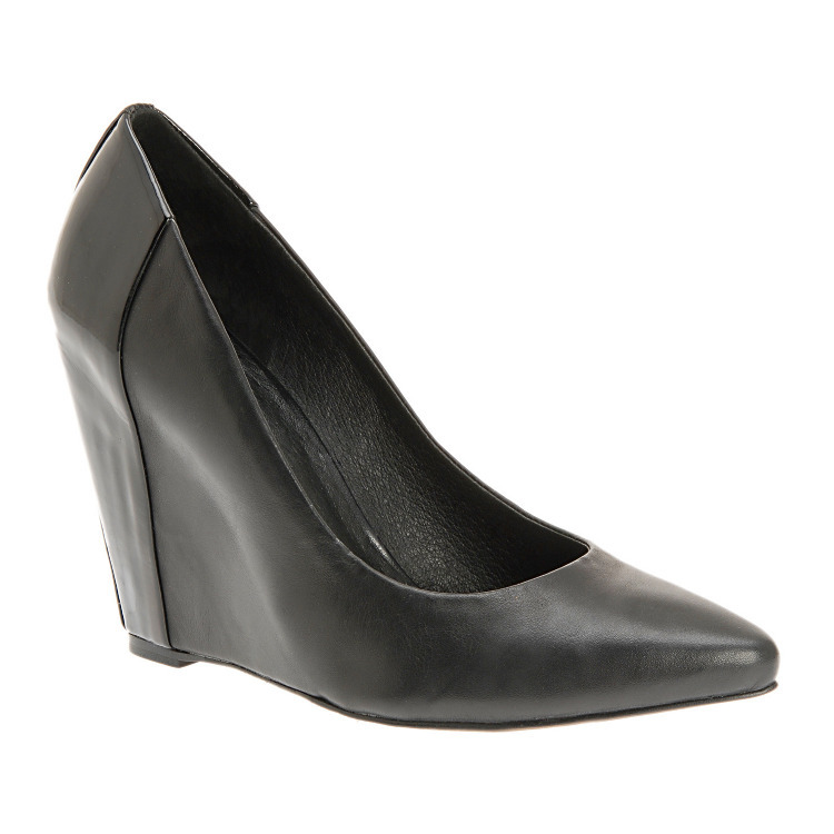 Aldo Melquist black wedge heels