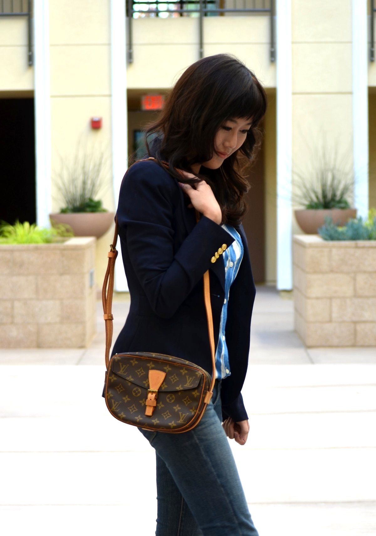 Outfit with louis vuitton and christian louboutin lollipuff for Smythe designer