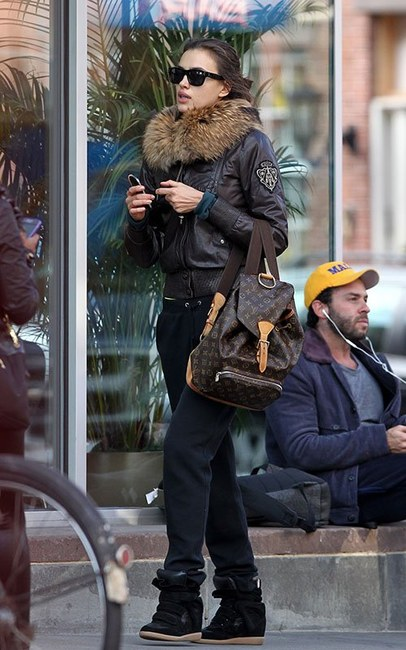 Celebrities Wearing Louis Vuitton Backpacks Lollipuff