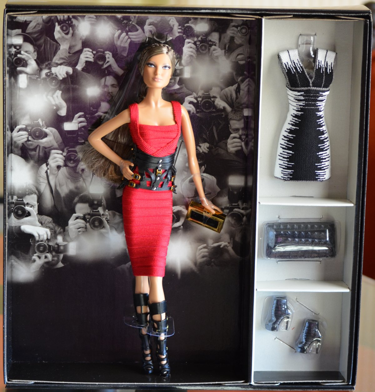 Herve Leger barbie doll new in box