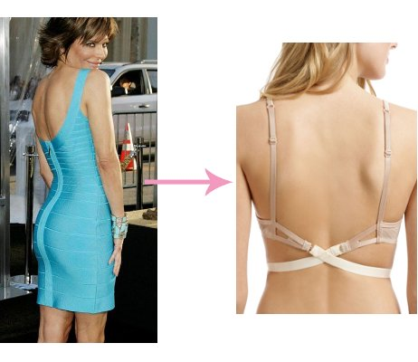 best bra for slightly low back herve leger dresses