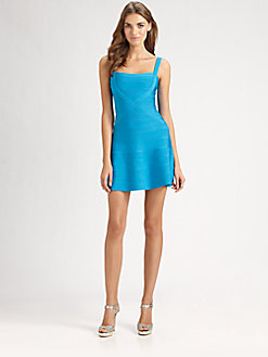 Herve Leger a line dress