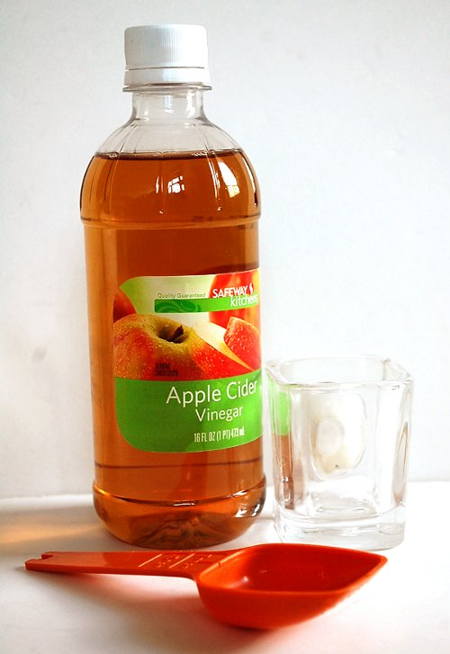 starch blocking apple cider vinegar shot drink