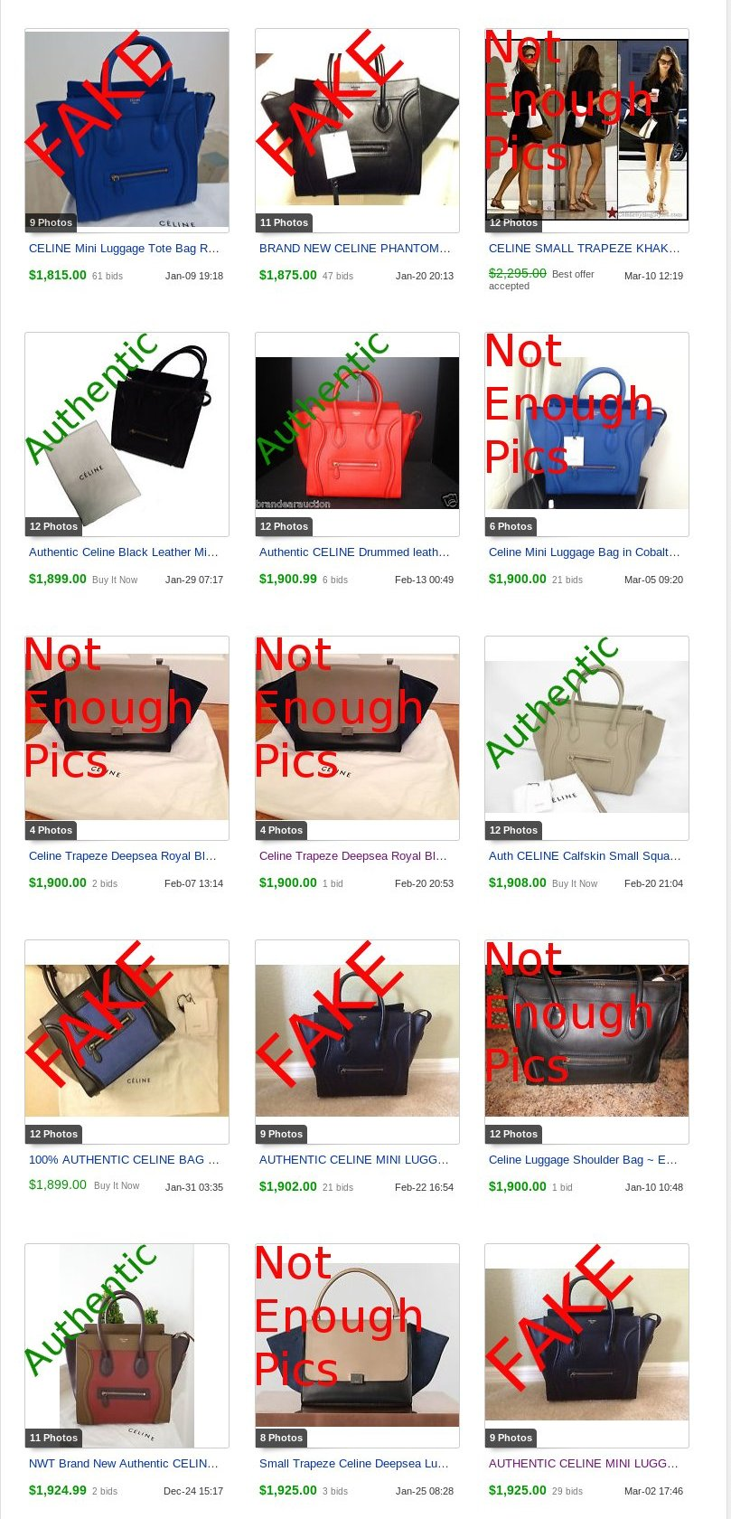 who carries celine bags - Counterfeit Celine Selling for LOTS of Money | Lollipuff