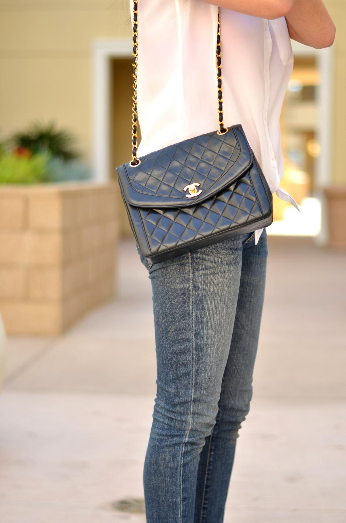 2c864c0b932a Classic Double Flap Vs. Vintage Single Flap Chanel Bag | Lollipuff