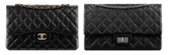 aaf4aca44b7a Chanel classic bags in lambskin and calfskin