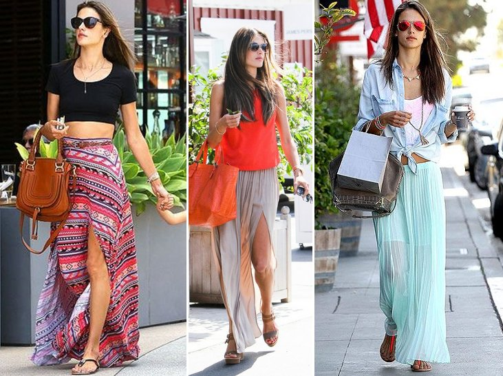 maxi skirt long floor length skirt outfits clothing