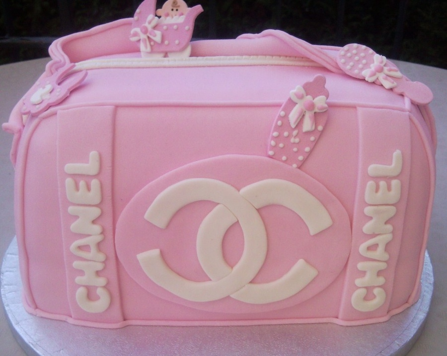 The Best Custom Chanel Cakes Lollipuff