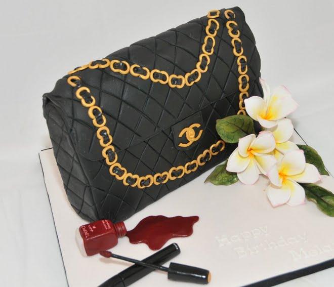 The Best Custom Chanel Cakes Lollipuff