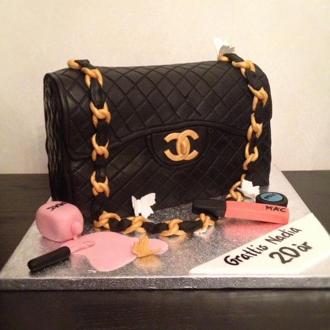 fdc247fef10f chanel designer handbag bag purse custom pastry cakes for birthdays  weddings graduation