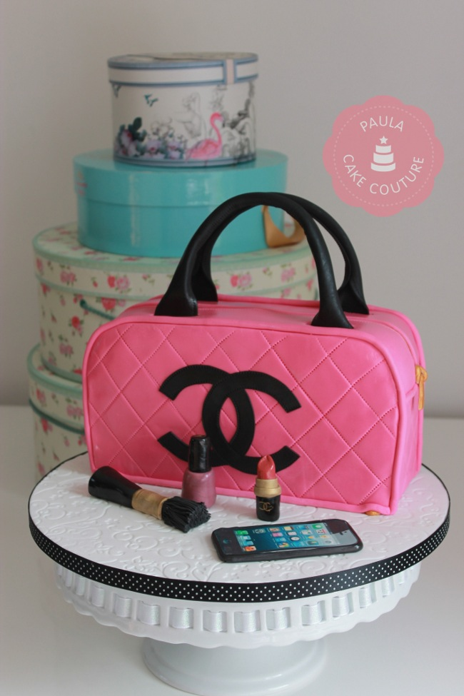 wedding cake bag the best custom chanel cakes lollipuff 21775