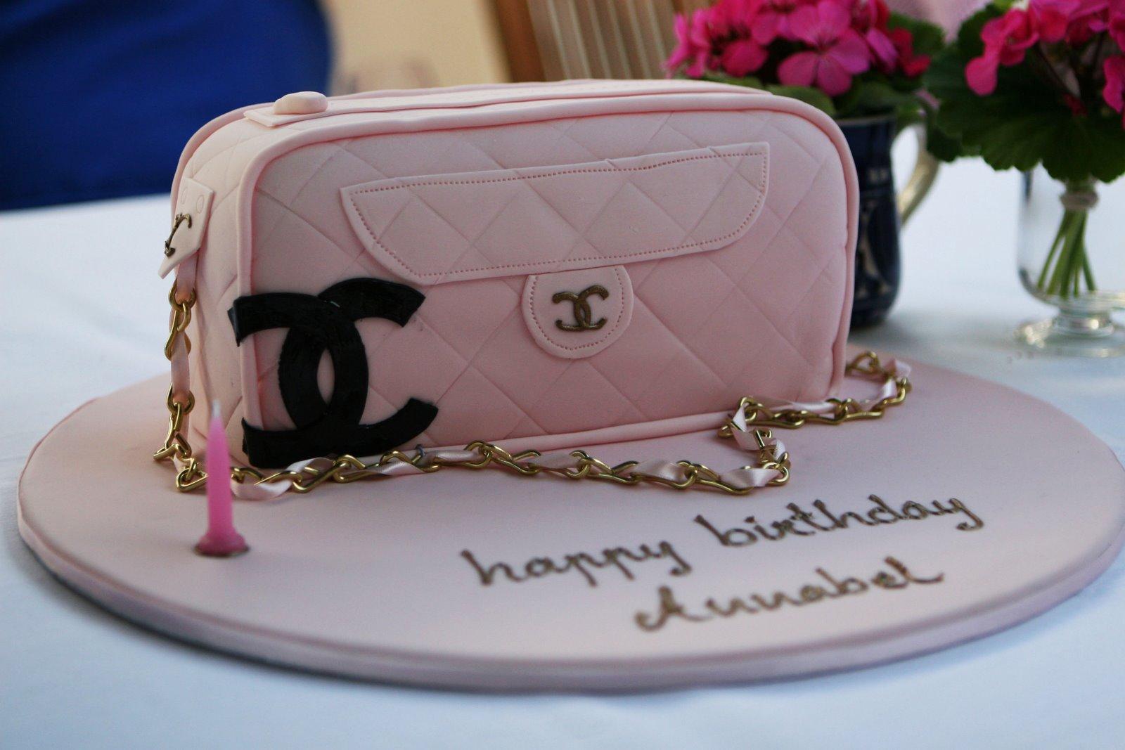 chanel designer handbag bag purse custom pastry cakes for birthdays ...: https://www.lollipuff.com/blog/217/the-best-custom-chanel-cakes
