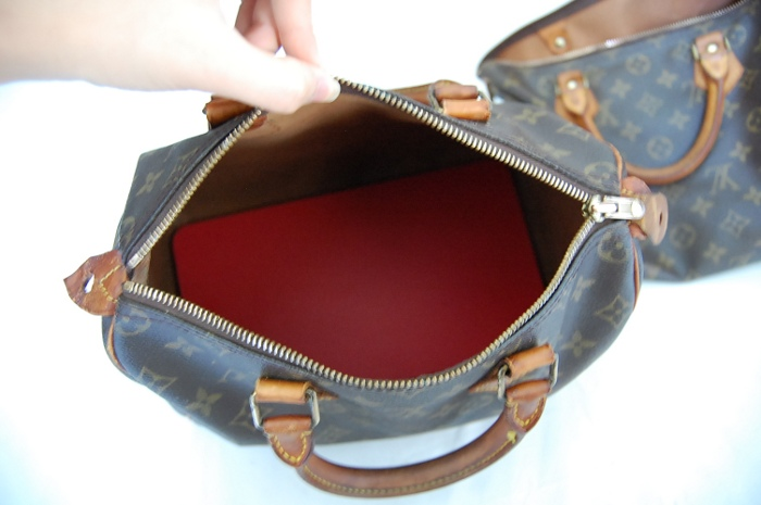 speedy shaper form for bottom of bag to prevent sagginess louis vuitton