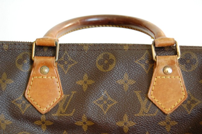 how to lighten louis vuitton leather make metal shiny clean refurbish to  newer look 11775430235e